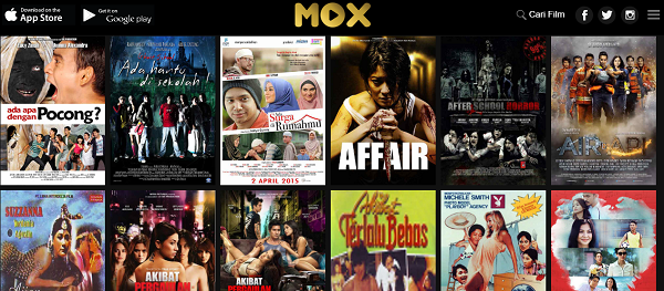 MOX…Layanan Streaming Khusus Film Indonesia - ROBBY'S BLOG