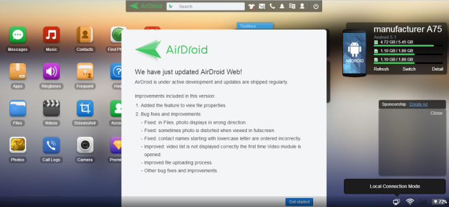 AirDroid Part 2 – Mengontrol Aktivitas Android di PC – ROBBY'S BLOG